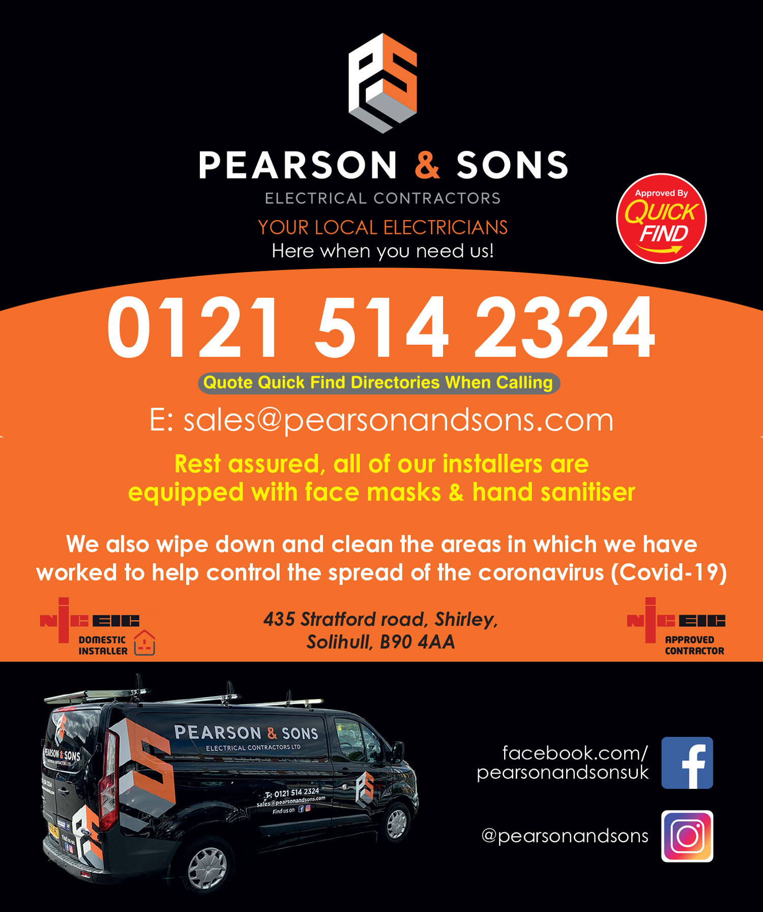 Pearson & Sons Electrical Contractors
