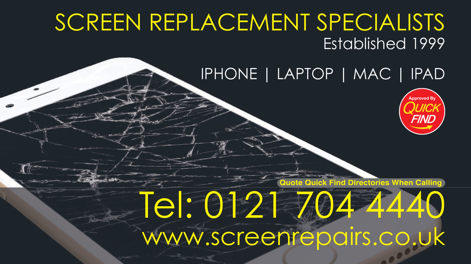 Screen Replacement Specialists