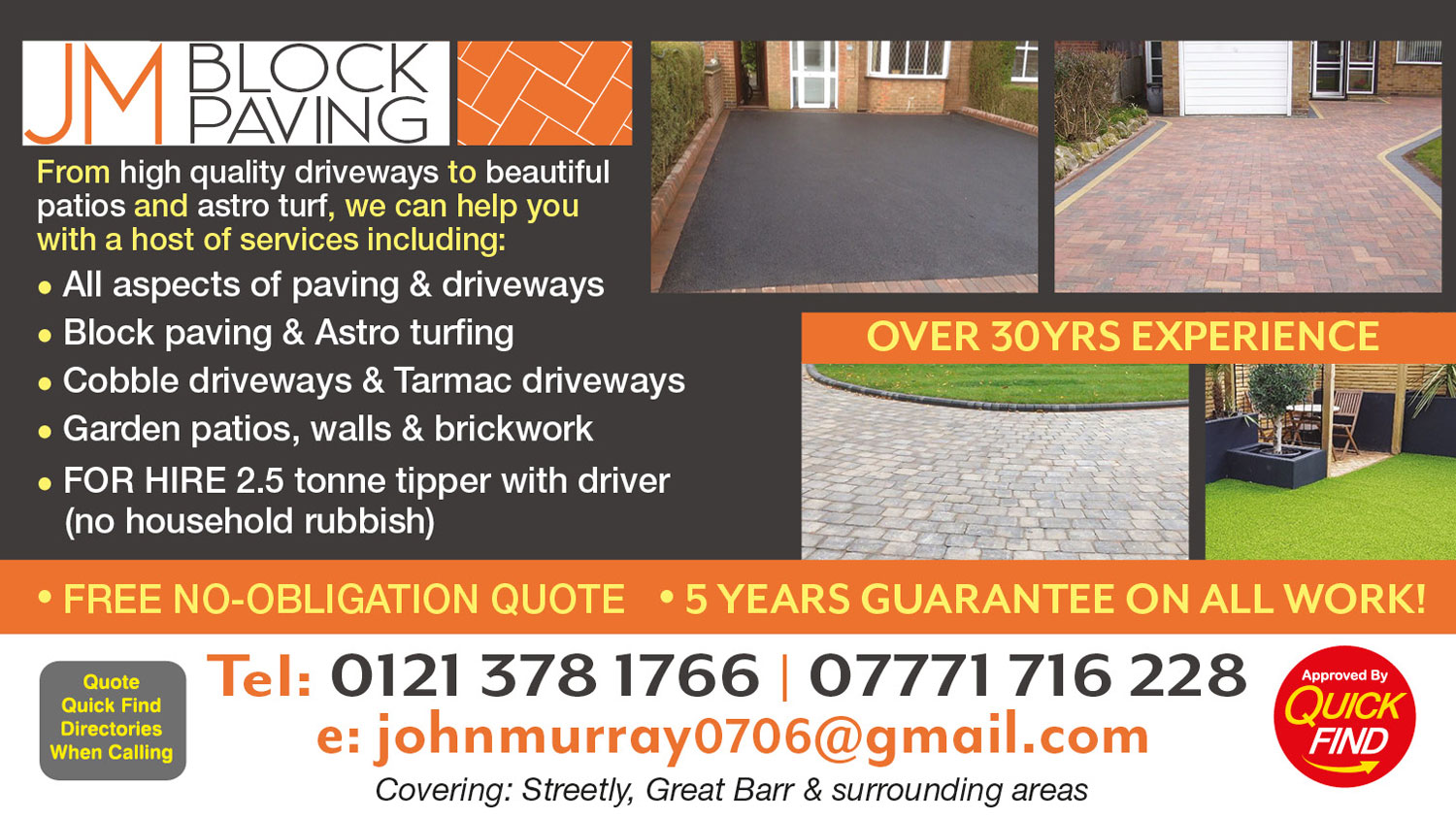JM Block Paving