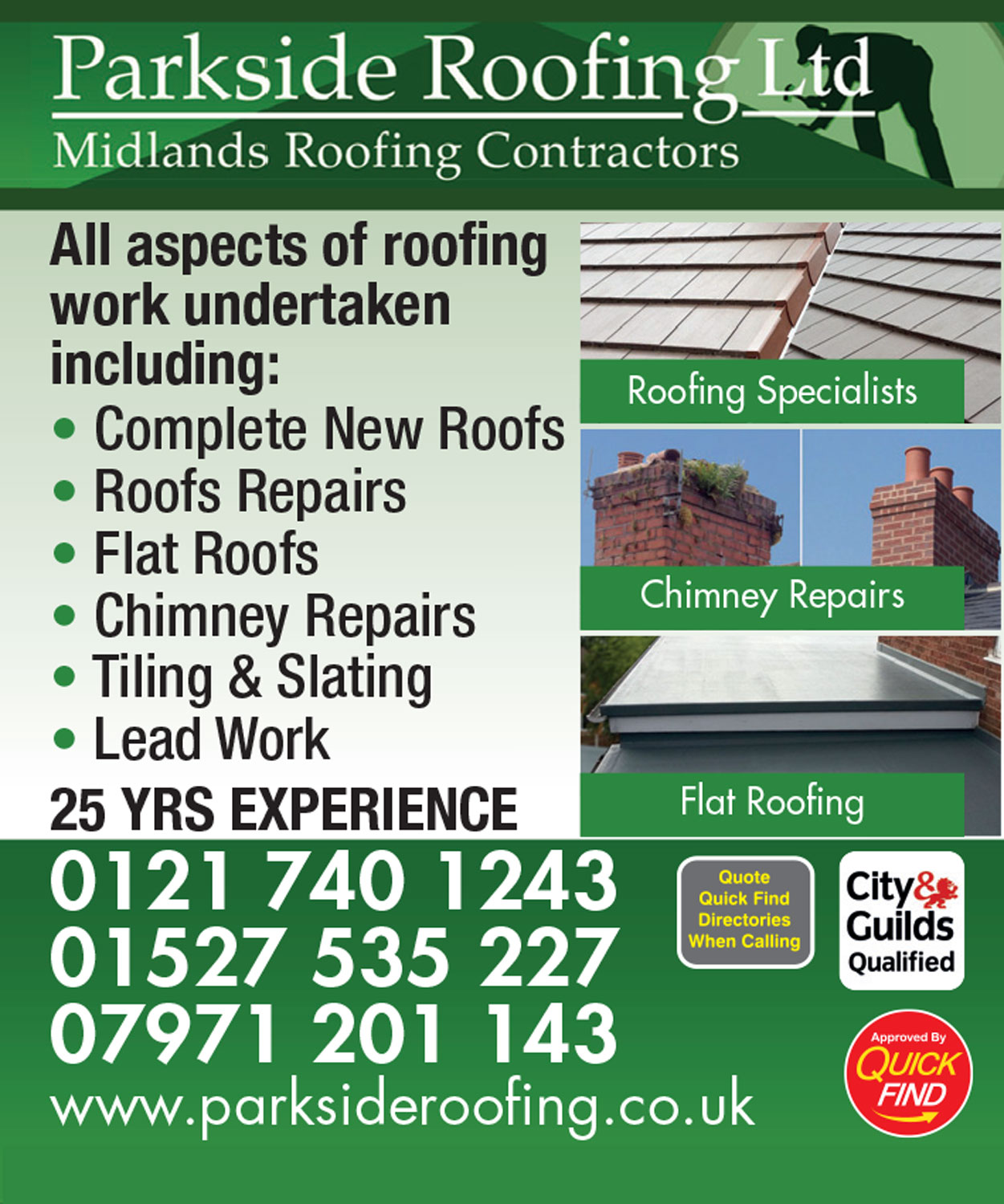 Parkside Roofing