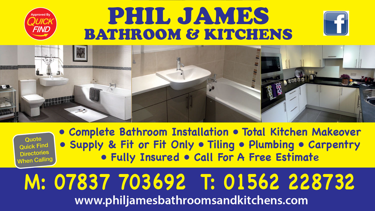 Phil James Bathroom and Kitchens