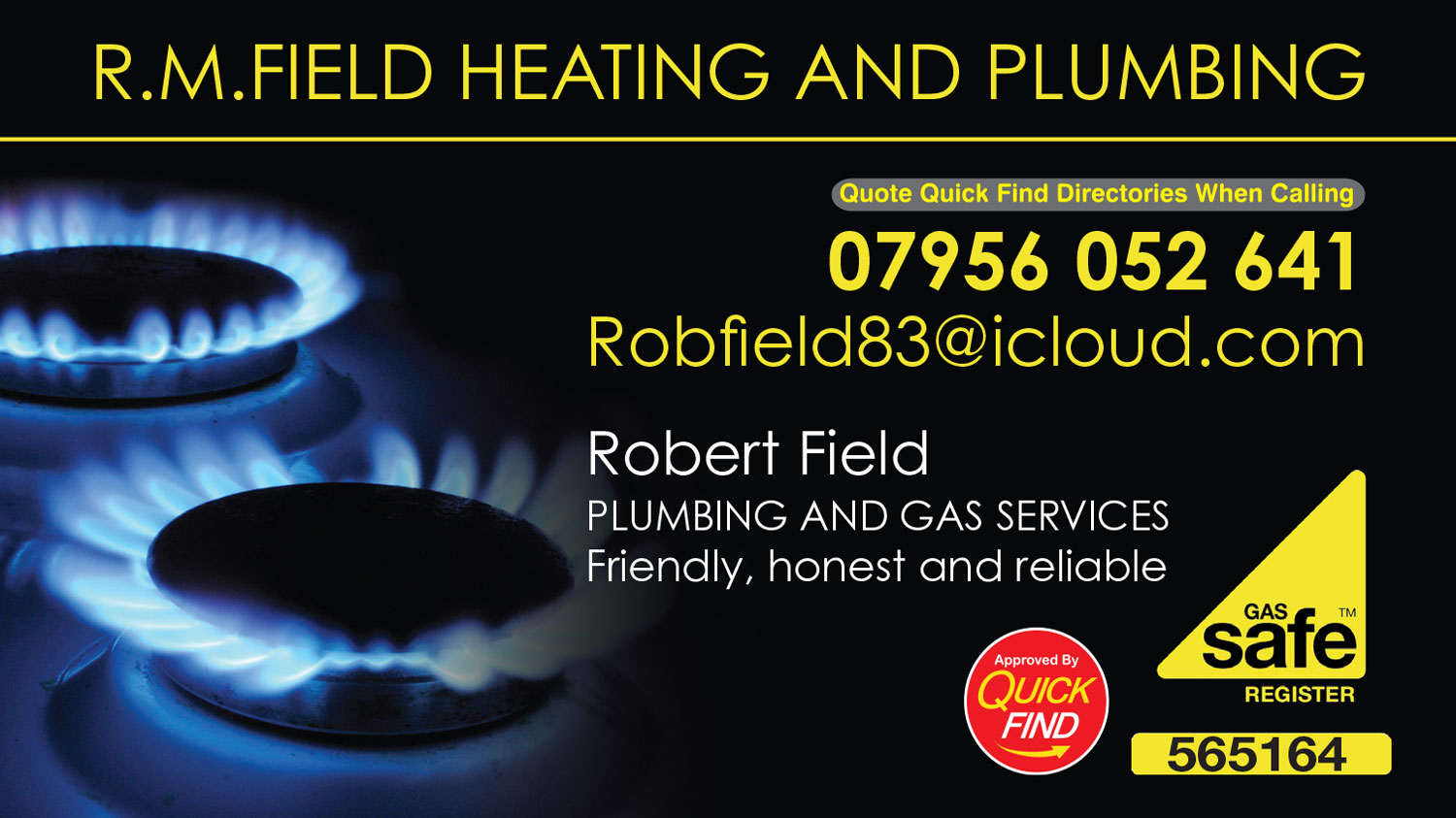 R.M. Field Heating and Plumbing