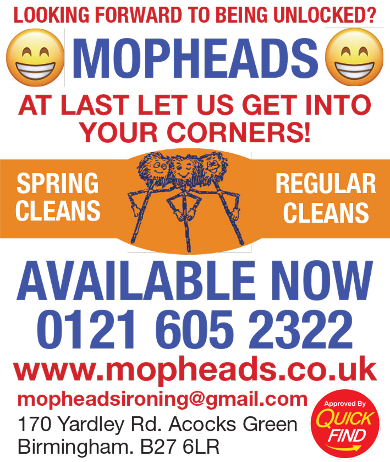 Mopheads