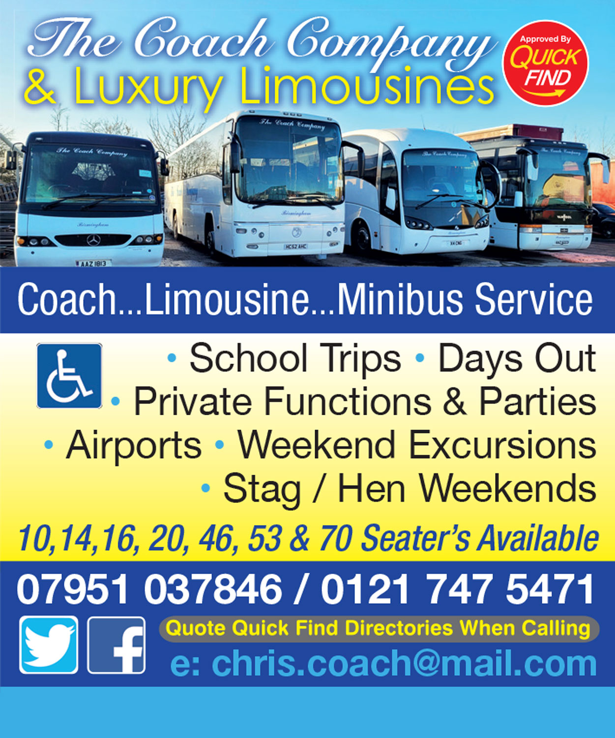 The Coach Company & Luxury Limousines
