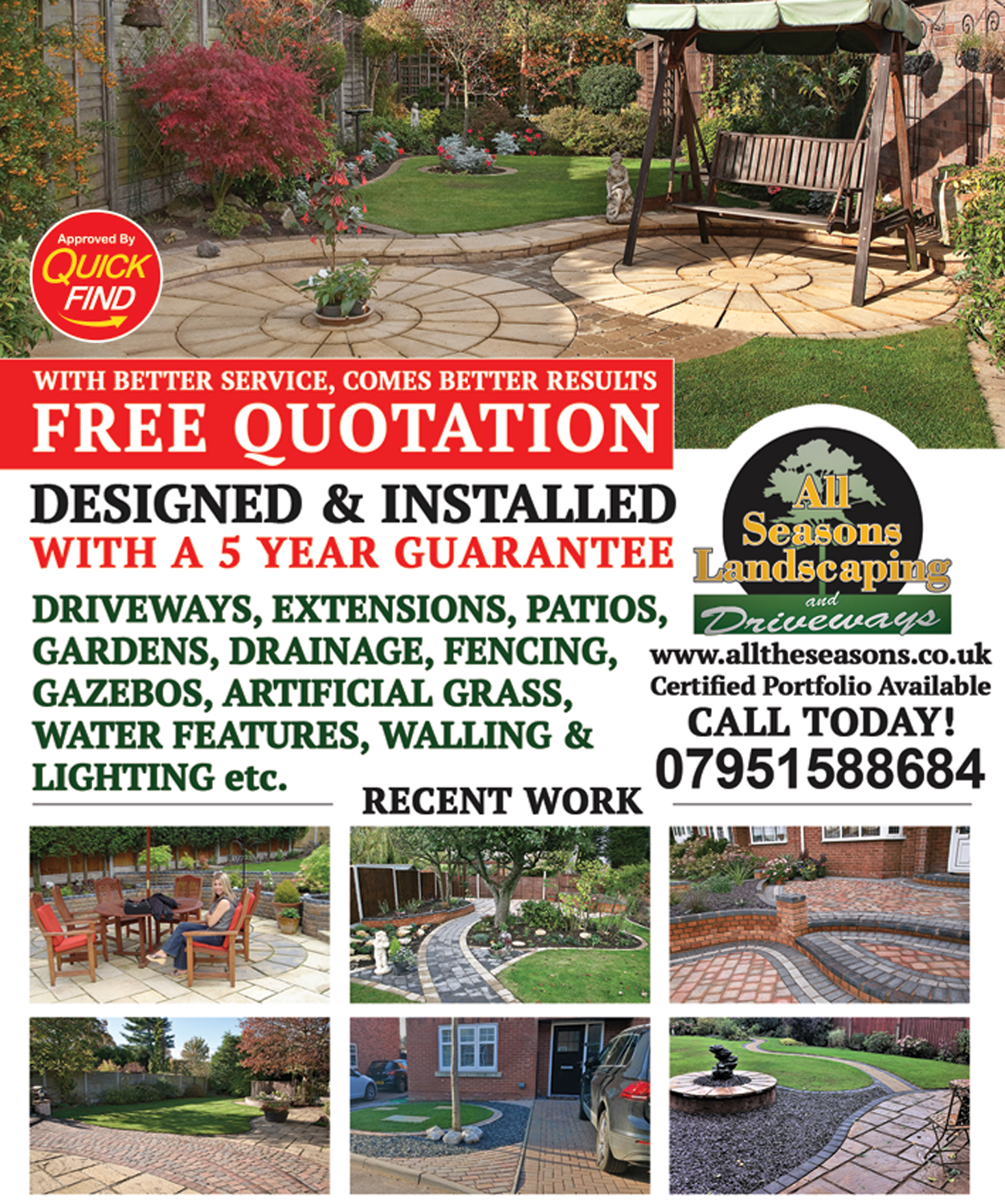 All Seasons Landscaping and Driveways