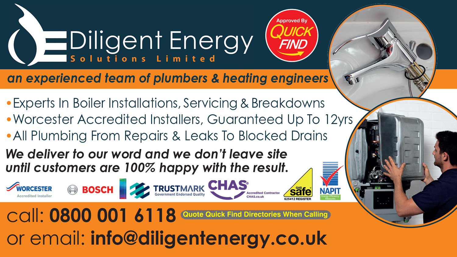 Diligent Energy Solutions Ltd. (Plumbing & Heating Engineers)